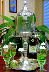 Absinthe Fountain Set | Metal 4 Spout
