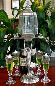 Lady Wings Absinthe Fountain 4 Spout Set