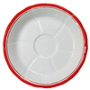 Absinthe Saucer (Sous Verre) Red