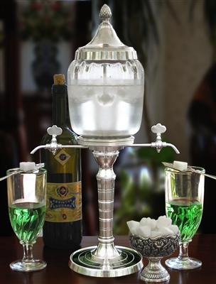 Bistro Petite 2 Spout Absinthe Fountain Set